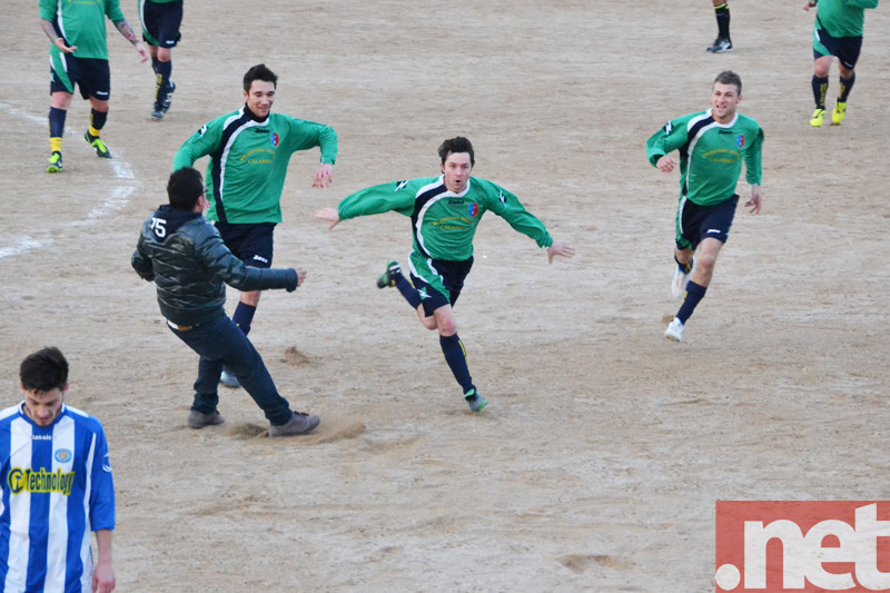 Florea esulta dopo il quarto gol