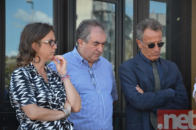 Da sinistra: Marinella Sclocco, Franco Zerra e Giovanni Lolli