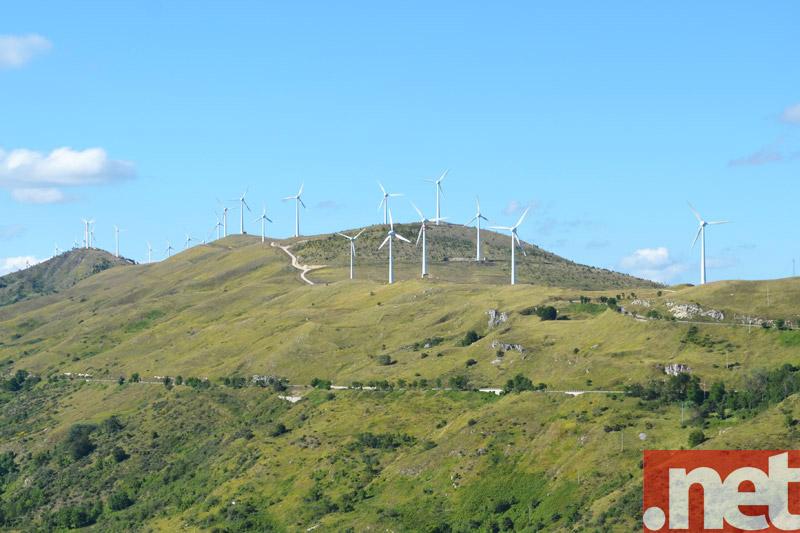 L'impianto eolico di Schiavi d'Abruzzo