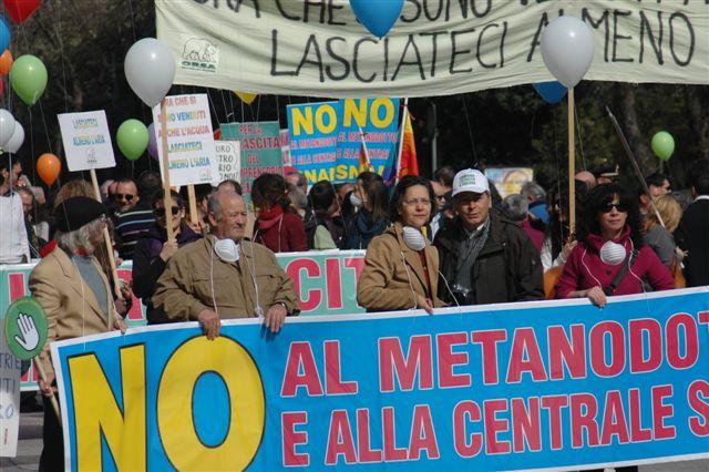 Le proteste a Sulmona