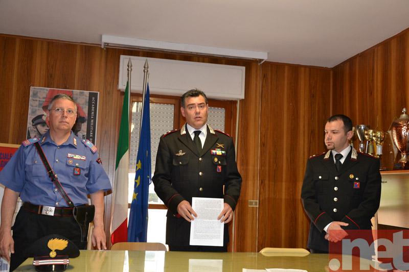 Il maggiore dei Carabinieri Giancarlo Vitiello
