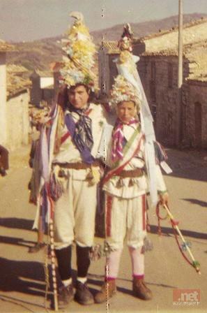 Pulcinella, Serre di Roccaspinalveti, anni '70